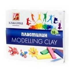 "Plastilinas  ""Klasika"" LUČ, 16 spalvų"