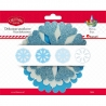 """Kalėdinė dekoracija """"Snaigės"""" 13,5cm 8vnt."""