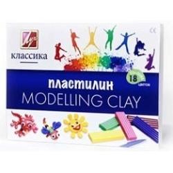 "Plastilinas  ""Klasika"" LUČ, 18 spalvų"