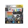 Flomasteriai METALLIC FINELINER CARIOCA, 8 spalvų