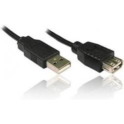 4World USB 2.0 Extension kabelis A-A M/F 1.8m
