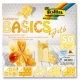 "Origami ""BASICS"" 50 lapų 20*20 FOLIA, geltoni motyvai"