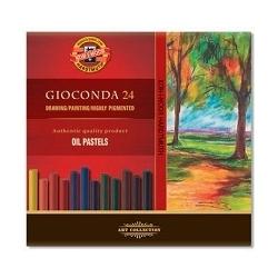 Pastelė aliejinė GIOCONDA Koh-I-Noor, 24 spalvų