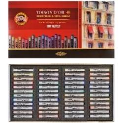 Spalvota sausa pastelė Koh-I-Noor, 48 spalvų