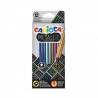 Spalvotų metalizuotų pieštukų rinkinys METALLIC CARIOCA 12 spalvų