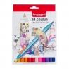Dvipusių markerių rinkinys Expression Bruynzeel, 24 spalvų