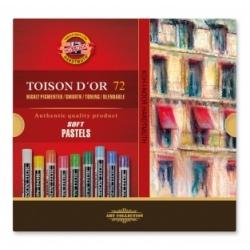"Spalvota sausa pastelė ""Toison D'or"" Koh-I-Noor, 72 spalvų"
