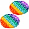 Antistresinis silikoninis žaislas (SP. APSKRITIMAS) POP IT