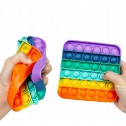 Antistresinis silikoninis žaislas (SP. KVADRATAS) POP IT